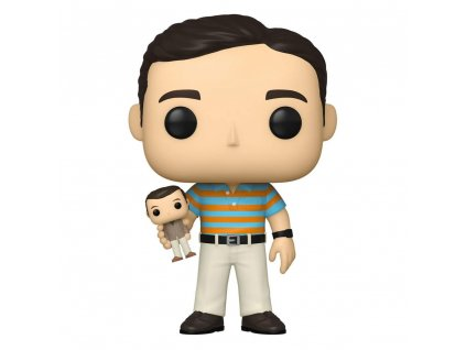 The 40-Year-Old Virgin POP! Movies Figures Andy holding Oscar 9 cm Assortment (6) Funko