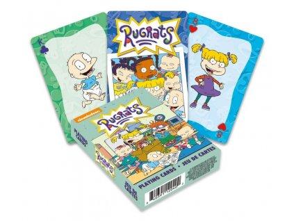 Rugrats Playing Cards Cartoon Aquarius