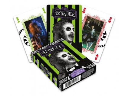 Beetlejuice Playing Cards Movie Aquarius