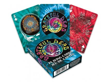 Grateful Dead Playing Cards Logo Aquarius