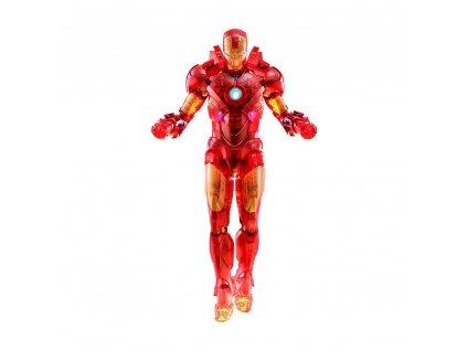 Iron Man 2 MM Action Figure 1/6 Iron Man Mark IV (Holographic Version) 2020 Toy Fair Exclusive 30 cm Hot Toys