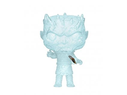 Game of Thrones POP! Television Vinyl Figure Crystal Night King w/Dagger in Chest 9 cm Funko