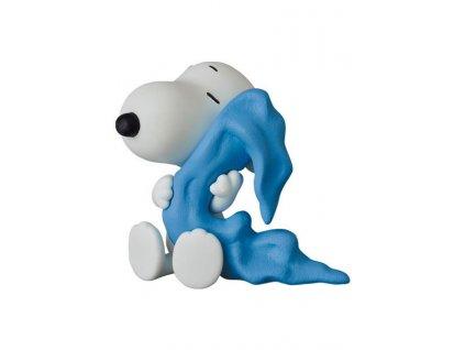 Peanuts UDF Series 12 Mini Figure Snoopy with Linus Blanket 7 cm Medicom