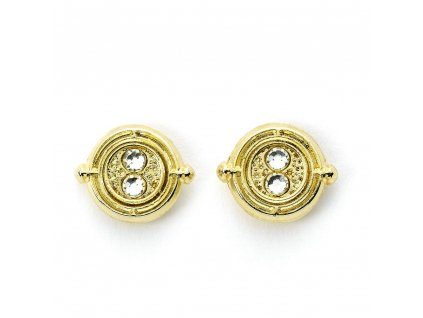 Harry Potter Earrings Time Turner (gold plated) Carat Shop, The