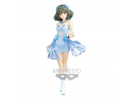 The Idolmaster Cinderella Girls Espresto Statue est-Dressy and Snow MakeUp Kaede Takagaki 22 cm Banpresto