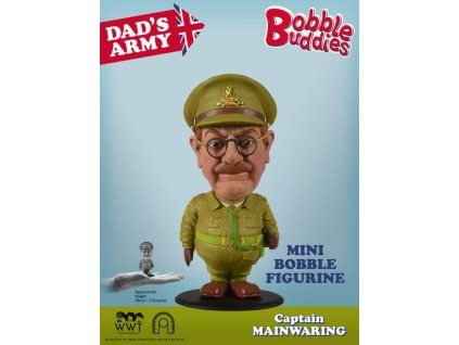 Dad's Army Bobble-Head Captain Mainwaring 7 cm BIG Chief Studios