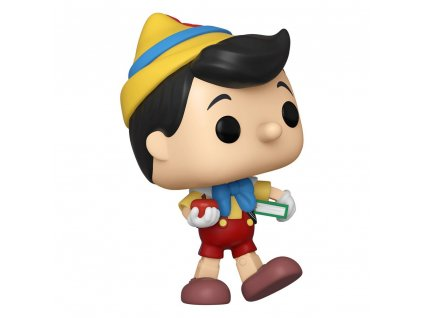 Pinocchio 80th Anniversary POP! Disney Vinyl Figure School Bound Pinocchio 9 cm Funko