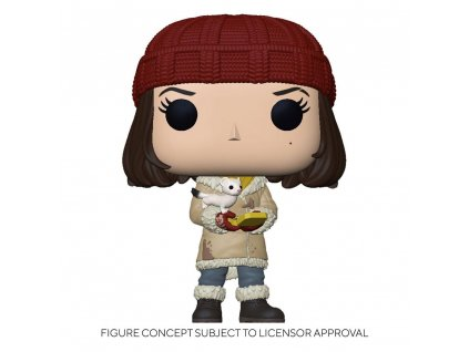 His Dark Materials POP! TV Vinyl Figure Lyra w/Pan 9 cm Funko