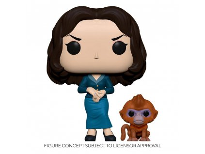 His Dark Materials POP! & Buddy Vinyl Figure Mrs. Coulter w/Daemon 9 cm Funko
