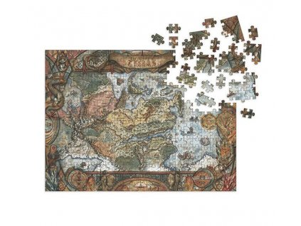 Dragon Age Jigsaw Puzzle World of Thedas Map (1000 pieces) Dark Horse
