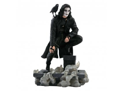 The Crow Movie Gallery PVC Statue Rooftop 25 cm Diamond Select