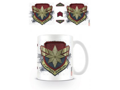 Captain Marvel Mug Badge Pyramid International