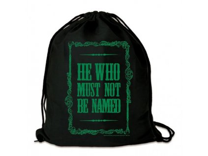 Harry Potter Gym Bag He Who Must Not Be Named Logoshirt