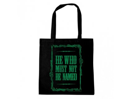 Harry Potter Tote Bag He Who Must Not Be Named Logoshirt