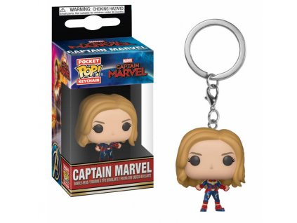 Captain Marvel Pocket POP! Vinyl Keychain Captain Marvel 4 cm Funko