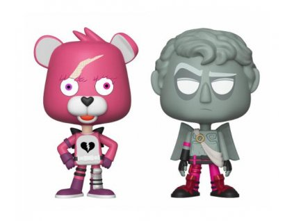 Fortnite VYNL Vinyl Figures 2-Pack Cuddle Team Leader & Love Ranger 10 cm Funko