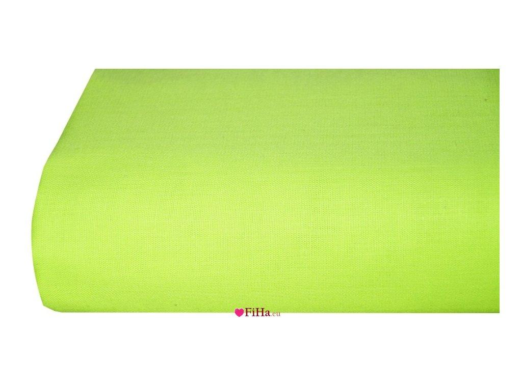 Plachta Klasik Zelenožltá Bavlna 140 x 240 cm