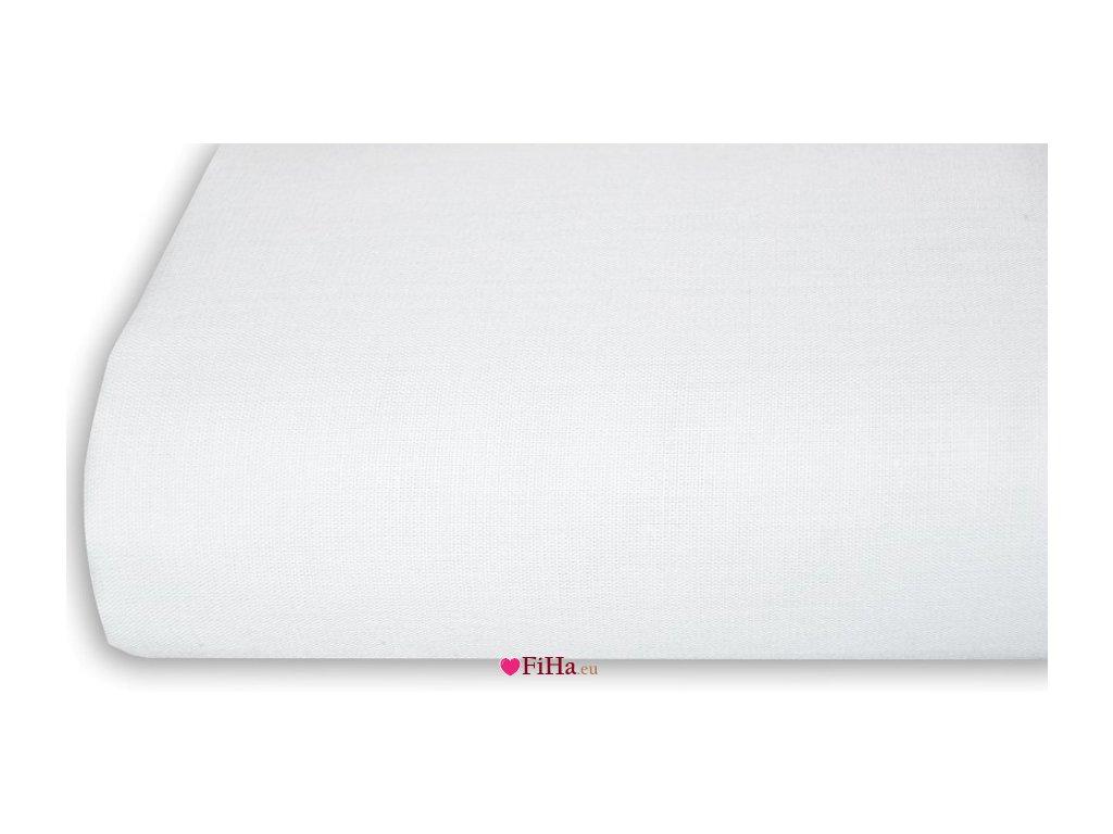 Plachta Klasik Biela Bavlna 140 x 240 cm
