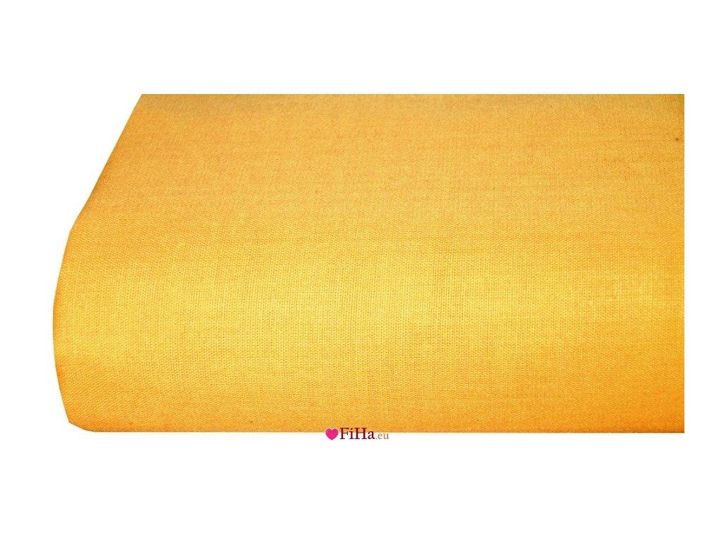 Plachta Klasik SýtoŽltá Bavlna 140 x 240