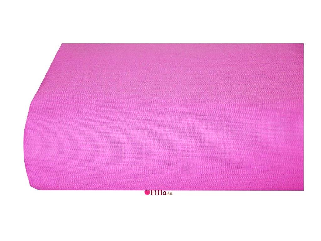 Plachta Klasik Ružová Bavlna 140 x 240 cm