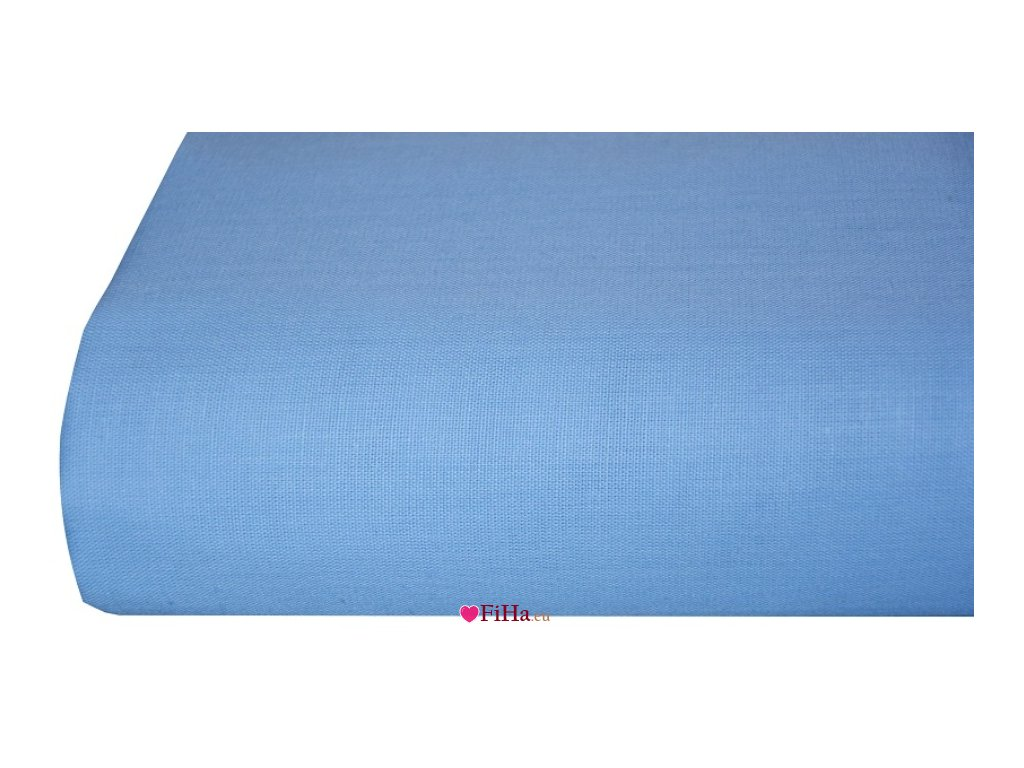 Plachta Klasik Svetlo Modrá Bavlna 140 x 240 cm