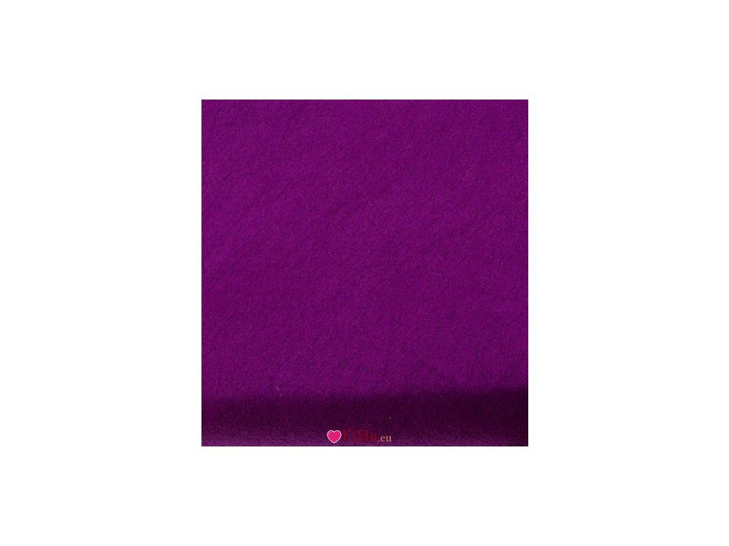 Flís plachta 5 fialová