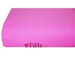 Plachta Klasik Ružová Bavlna 140 x 240