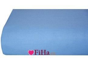 Plachta Klasik Svetlo Modrá Bavlna 140 x 240