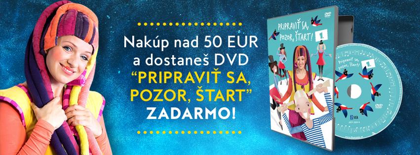 DARČEK DVD NAD 50 EUR