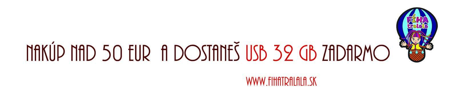 USB ZADARMO nad 50 EUR