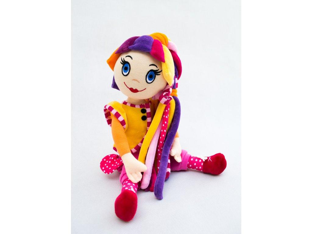 bábika / panenka Fíha tralala - plyšák + najnovšie DVD zadarmo