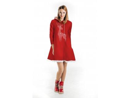 Šaty červené - pohodlné