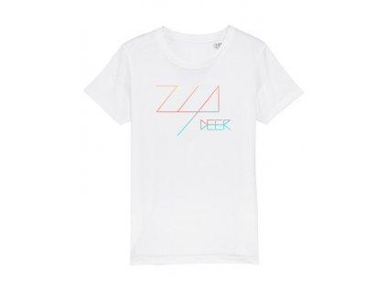 tričko biele zia deer