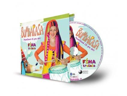 CD Bumbarasa od Fíha tralala  CD