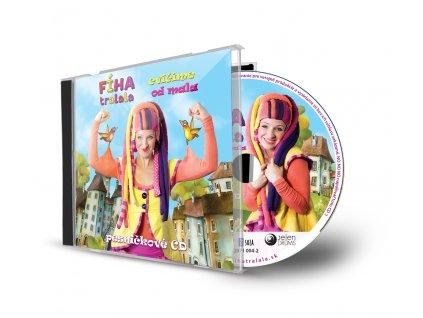 CD Cvičíme od mala od Fíha tralala  CD