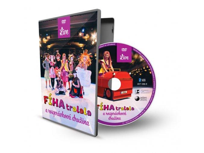 obal DVD live