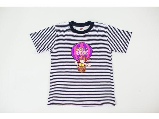 tričko Fíha v ružovom balóne