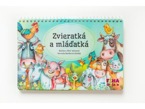 kniha Zvieratká a mláďatká od Fíha tralala  KNIŽKA