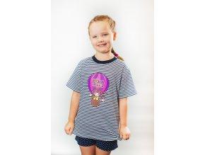Tričko dievčenské - Fíha v balóne