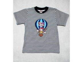 Tričko  - Fíha v modrom balóne