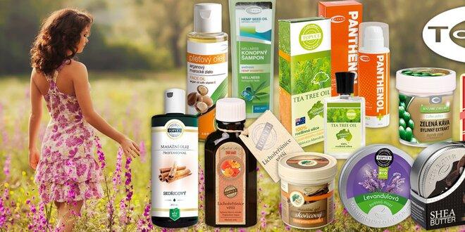 Zdraví v každé kapce - přírodní sirupy a oleje firmy Topvet