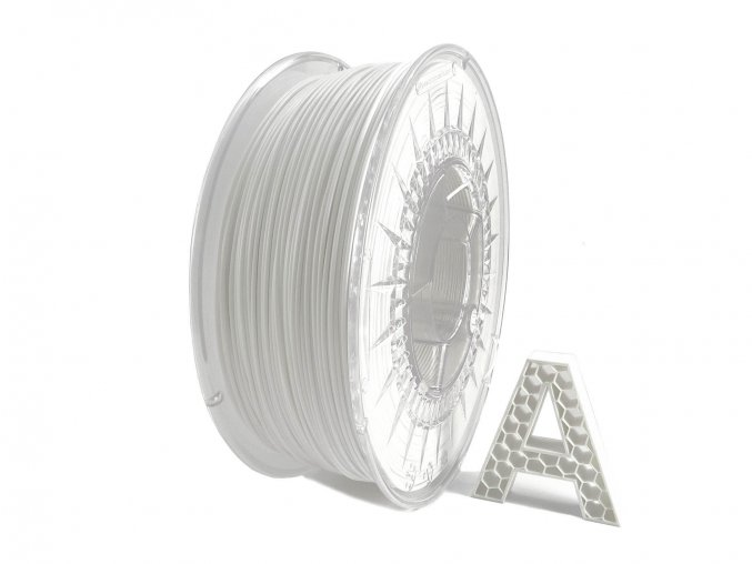 PLA 3D Filament Bílá 1 kg 1,75 mm AURAPOL
