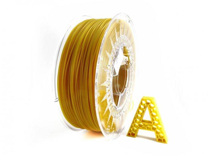 PLA 3D Filament Medová částečně transparentní 1 kg 1,75 mm AURAPOL