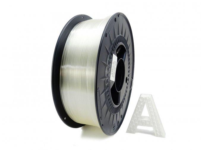 PLA 3D Filament čirý transparentní 1 kg 1,75 mm AURAPOL