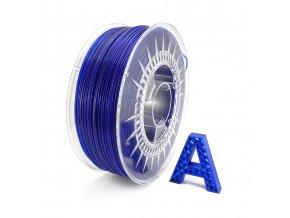 PETG Filament Ultramarine Blue Transparent 1 kg 1,75 mm AURAPOL