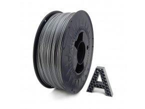 PET-G Filament stříbrná 1 kg  1,75 mm AURAPOL