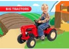 BIG šlapací traktory