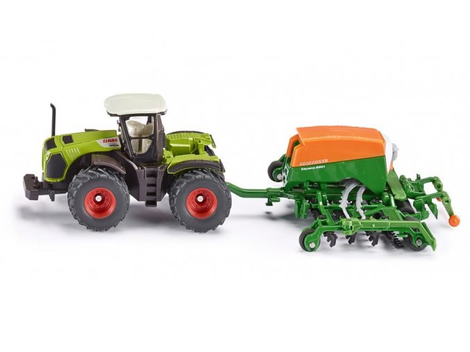 Siku Claas Traktor a secí kombinace 1:87
