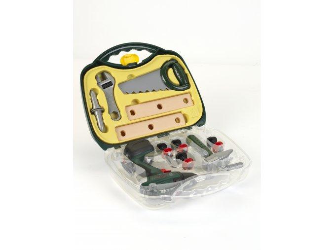 Klein Bosch Aku vrtačka-kufr s příslušenstvím