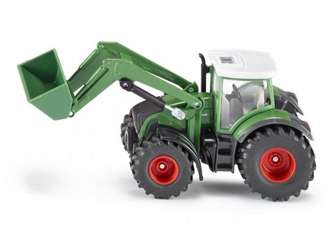 Siku traktor Fendt 936 s nakladačem 1:50